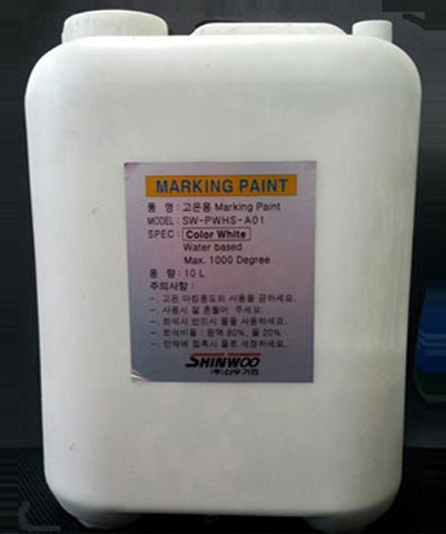 Marking Paint for high temperature